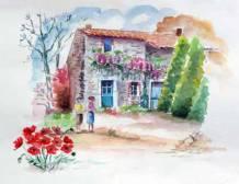 Aquarelle - Edith THESNIERES