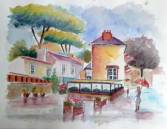 Aquarelle - Edith THESNIERES