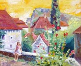 Huile - Edith THESNIERES