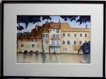 Claude - aquarelle