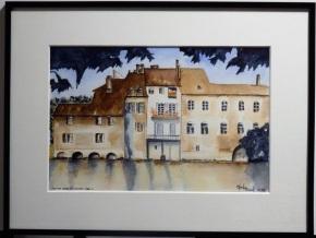 Claude - aquarelle